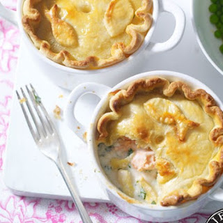Easy-peasy Fish Pie With A Shortcrust Top