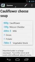 Screenshot of my Food - Grocery Planner