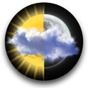 Animated Weather Widget, Clock logo