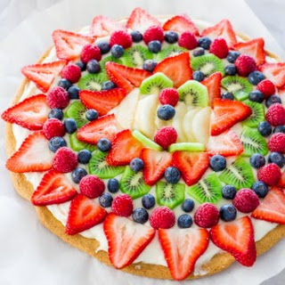 Fruit Pizza With Cream Cheese Recipes.