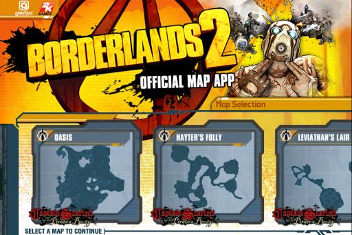 Borderlands 2 GotY Map App
