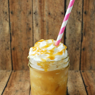 Frozen Caramel Drink