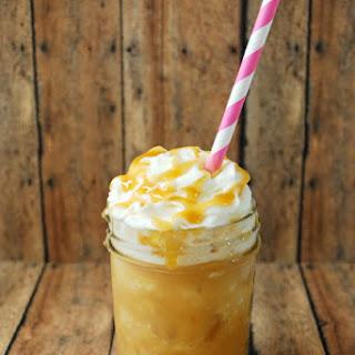 Frozen Caramel Drink.