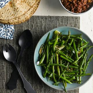 Asparagus Green Onion Sauté