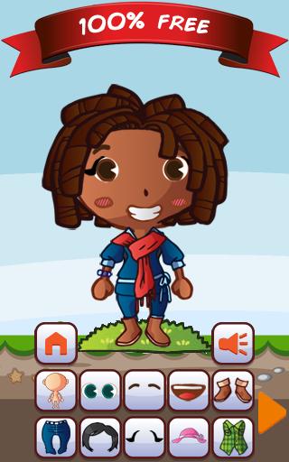 玩免費休閒APP|下載打扮的女孩 - 一个时尚游戏 app不用錢|硬是要APP