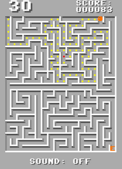 C64 Maze Run- screenshot