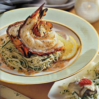 Grilled Lobster with Creamy Chili Vinaigrette.