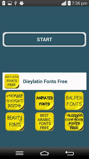 DieyLatin Fonts Free