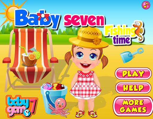 Baby Flishing Time