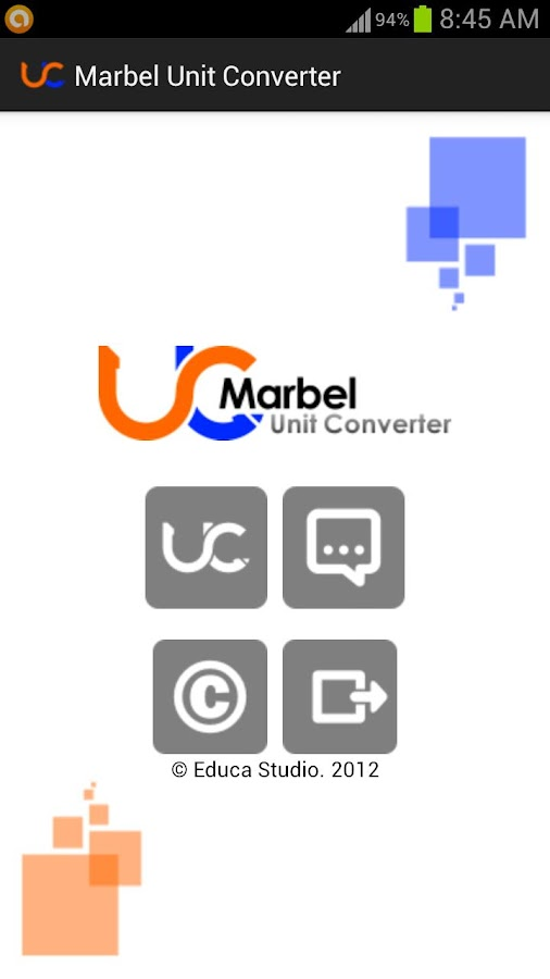 Marbel Unit Converter - screenshot