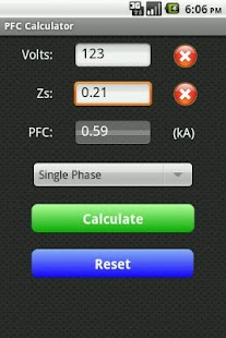 Fault Current Calculator Free- screenshot thumbnail