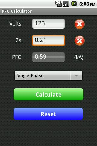 Fault Current Calculator Free- screenshot