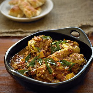 Indian-style Chicken Curry.