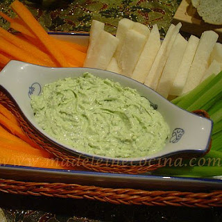 Goat Cheese, Herb, and Lime Dip.