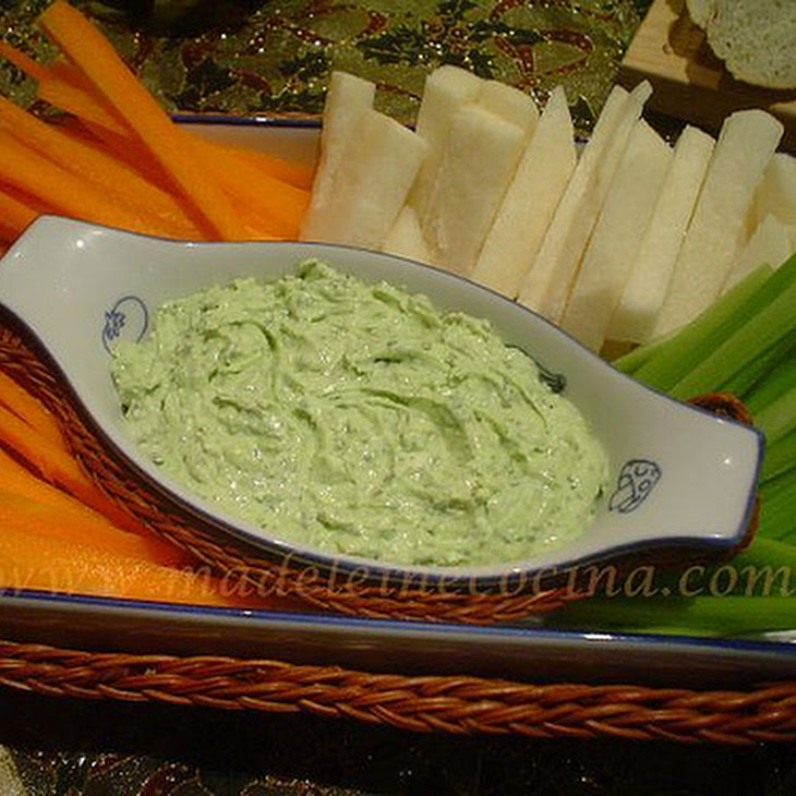 Goat Cheese, Herb, and Lime Dip Recipe