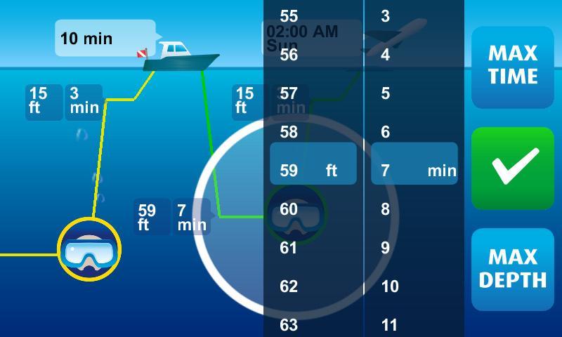 DiveMax NITROX Dive Planner- screenshot