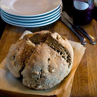 Brown Soda Bread with Molasses.