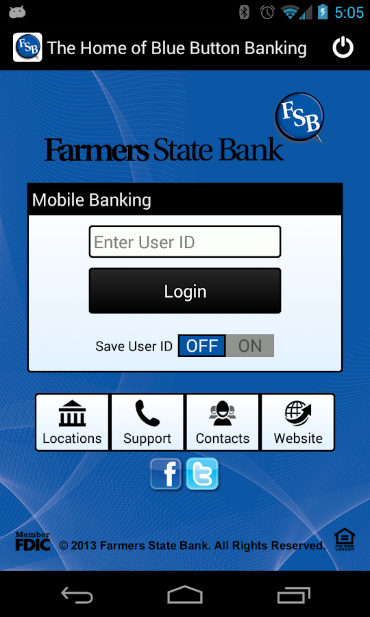 Farmers State Bank Mobile - screenshot
