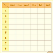simple timetable2