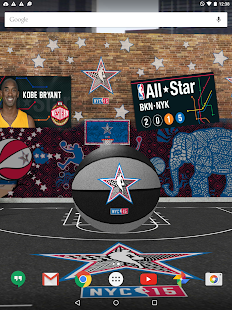 NBA 2015 Live Wallpaper- screenshot thumbnail
