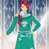 Chic Winter Dresses Girl Game