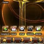 GOLD Go Launcher EX theme icon