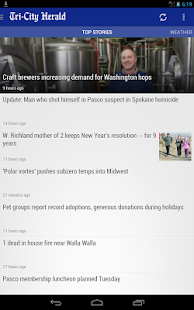 Tri-City Herald: WA state news - screenshot thumbnail