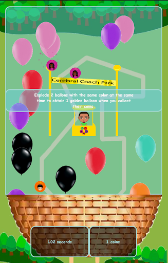 Cerebral Coach Games : Balloon