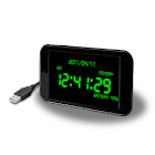 Β del reloj de la batería icon