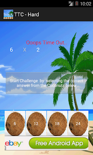 Times Tables NonStop Challenge - screenshot thumbnail