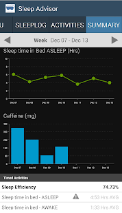Sleep Advisor- screenshot thumbnail