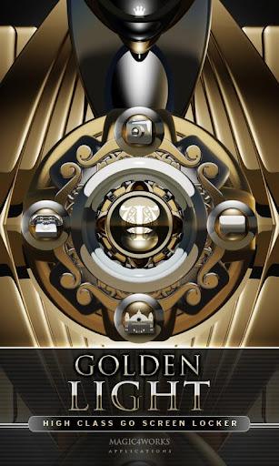 GO Locker Theme Golden Light
