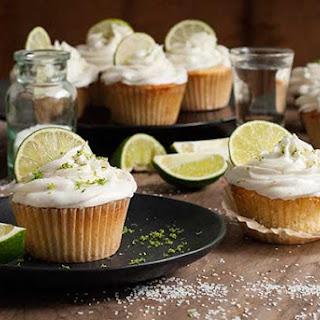 Gluten Free Dairy Free Margarita Cupcakes