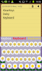 KlearKeys Daisy Keyboard screenshot 5