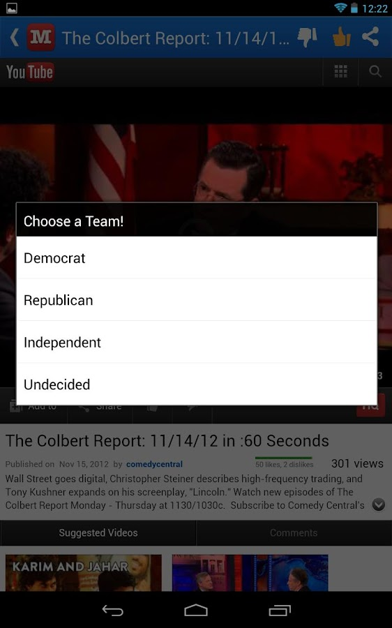 Mock the Vote - screenshot