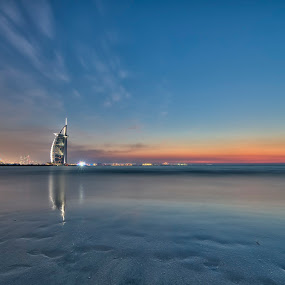 Revisiting Burj Al Arab with a Sunrise shoot by Vic Pacursa - Buildings & Architecture Office Buildings & Hotels