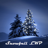 Winter Snowfall LWP Ads-free