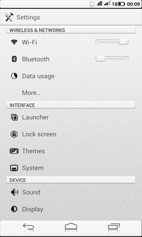 Solid Metal Cm10 Cm10.1 Theme - screenshot