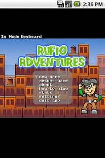 Rufio Adventures - screenshot thumbnail
