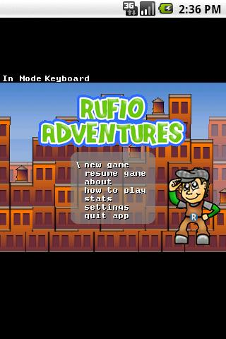 Rufio Adventures - screenshot