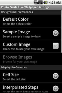 Photo Puzzle LWP Free- screenshot thumbnail