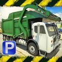 3D Garbage Truck Parking Game icon