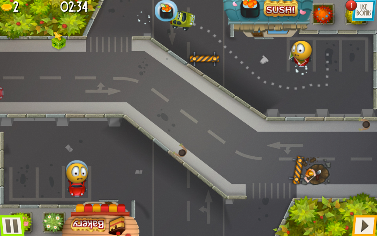 Car Park Control - screenshot