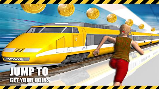 Subway Train Game 2D