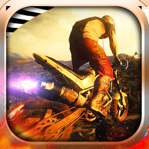 特技摩托爬坡 賽車遊戲 LOGO-阿達玩APP