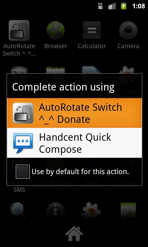AutoRotate Switch - Donation- screenshot