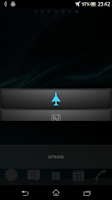 Screenshot of Flight Mode Swipe Settings