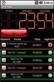 ExerTime - screenshot thumbnail