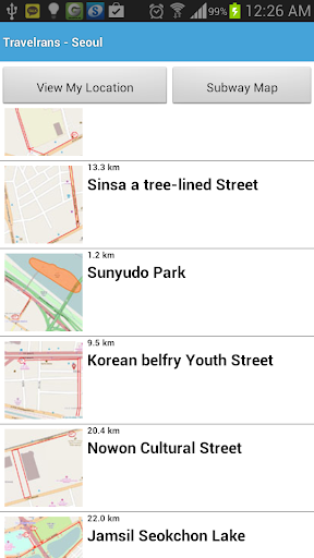 OneTouch Seoul Travel Map-Lite