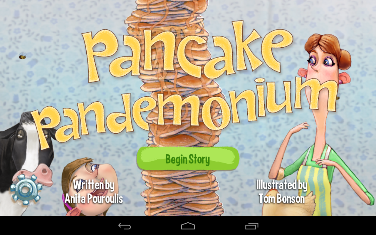 Pancake Pandemonium Kids Book- screenshot